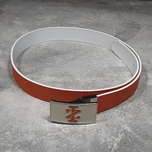 IZOD Reversible Leather Belt With Buckle, Sz 36